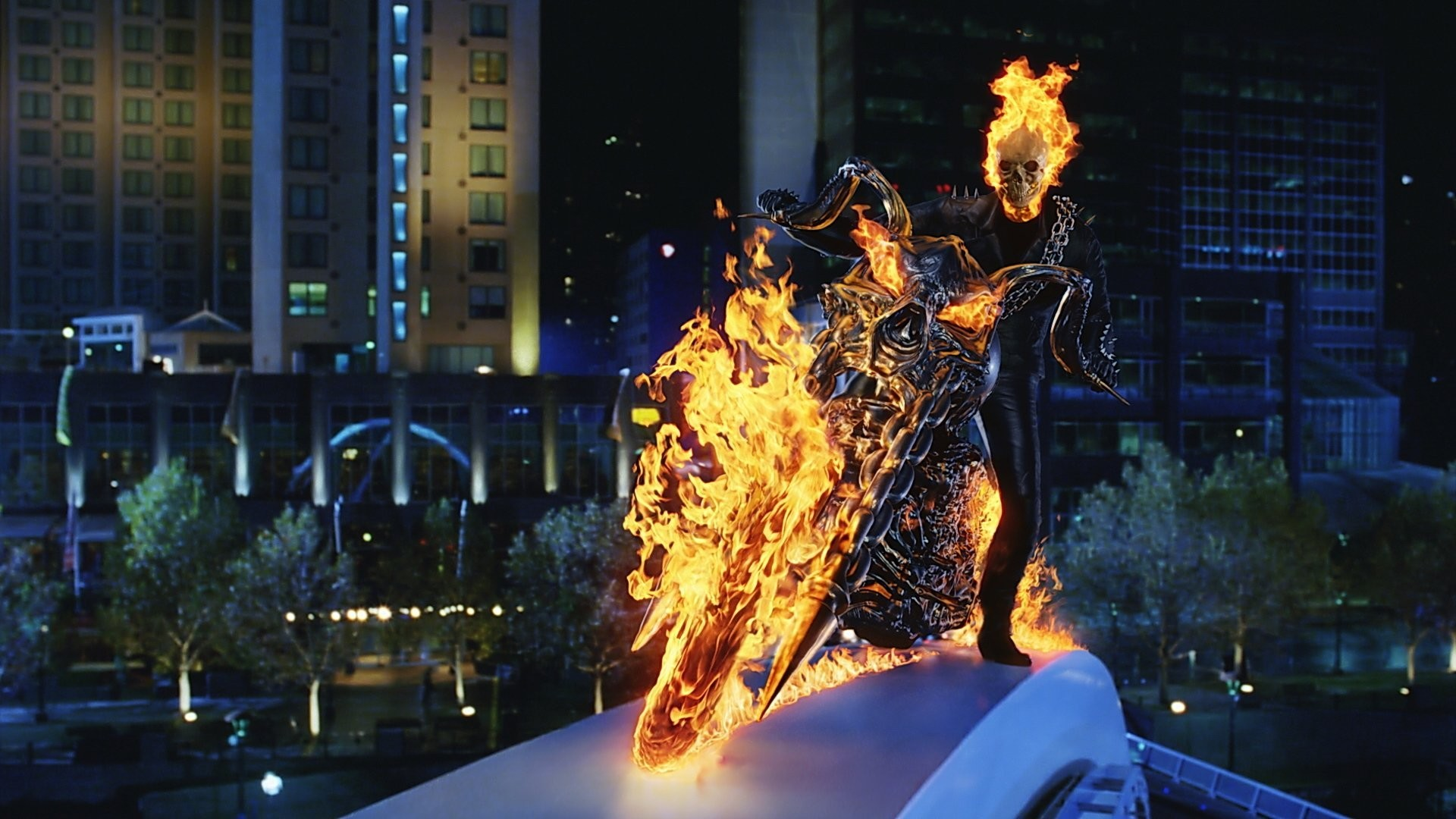 Ghost Rider Bike Hd Wallpaper Blue Ghost Rider Wallpaper 59 Images