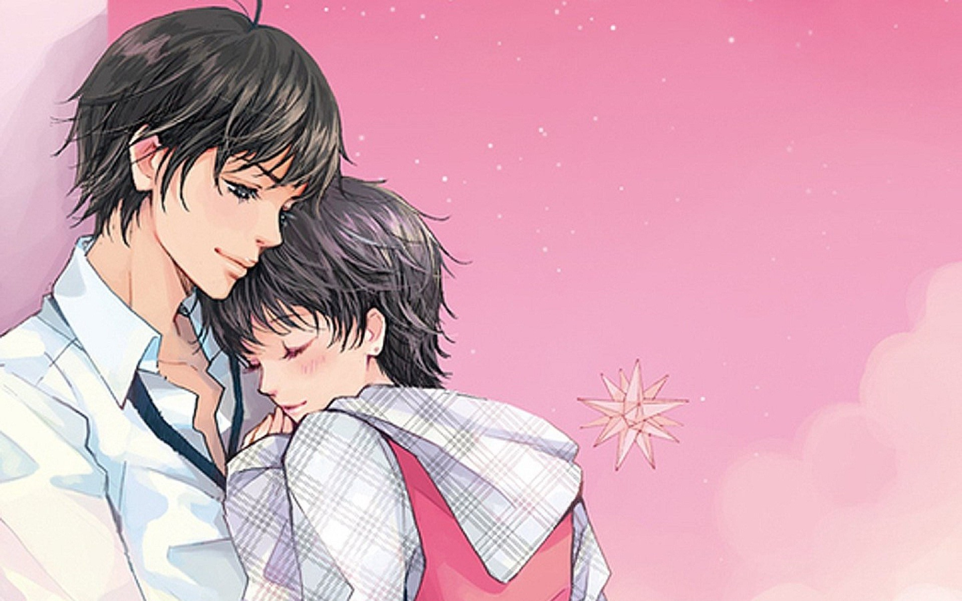 Mobile9 Wallpaper Lovely Girl Hugs And Kisses Wallpaper 60 Images