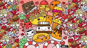 Simple Drawings Kawaii Food 3