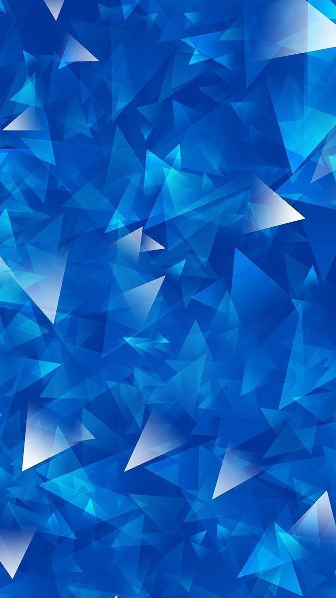 Blue Fish Black Lines