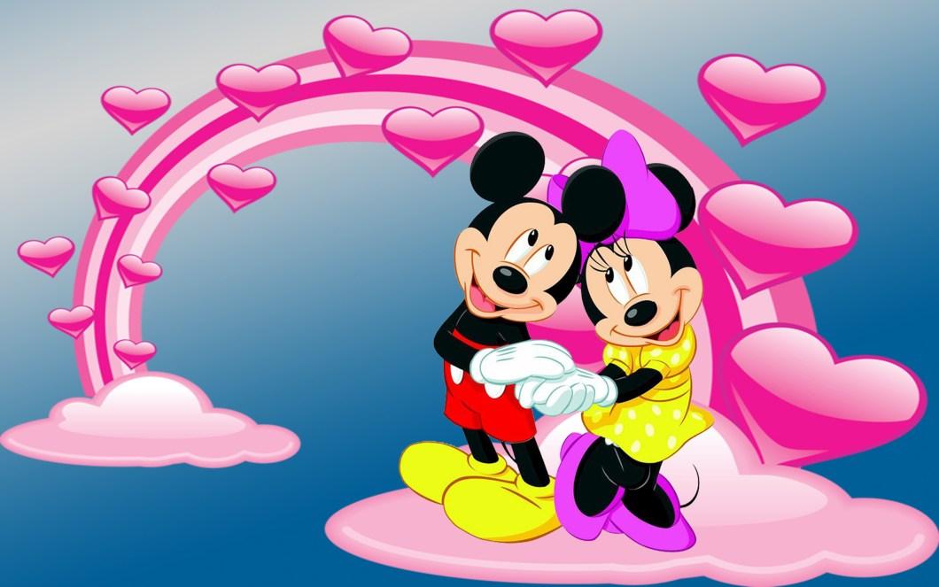 Minnie And Mickey Mouse Wallpaper Walljdi Org