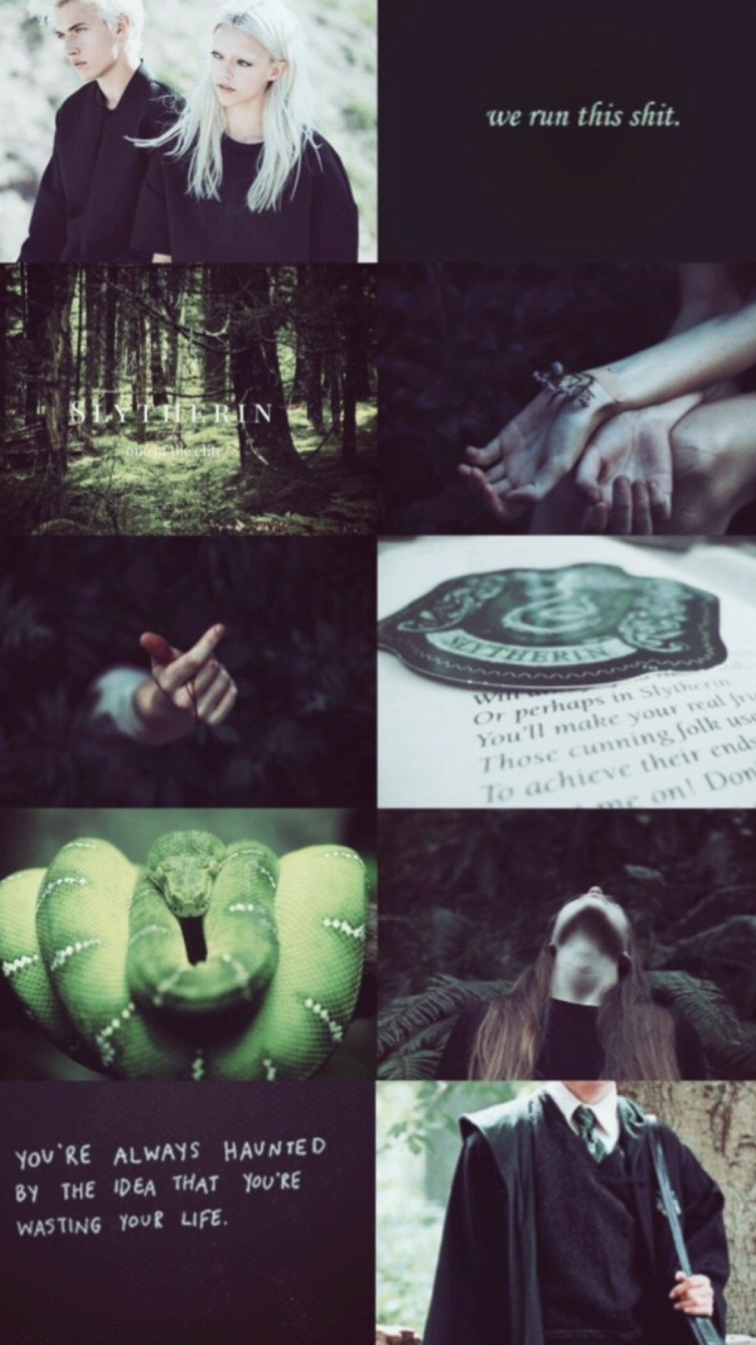 Harry Potter Quotes Wallpaper Iphone 5 Slytherin Wallpaper 72 Images