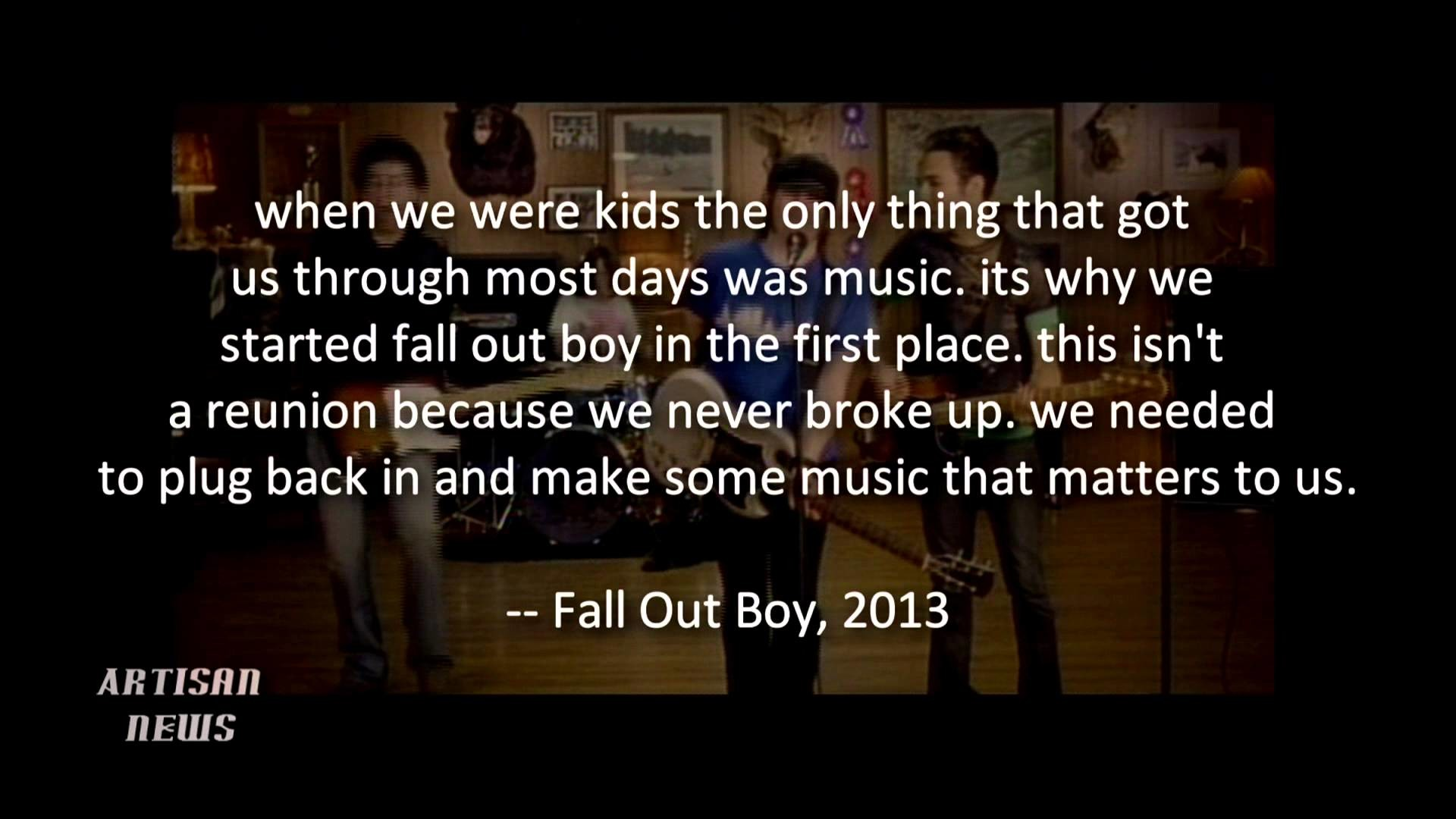 Fall Out Boy Computer Wallpaper Fall Out Boy Logo Wallpaper 77 Images