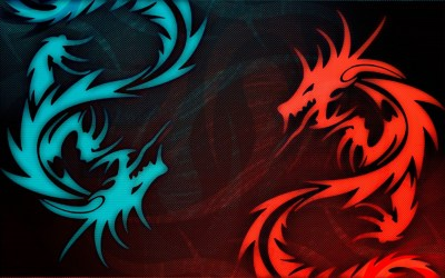Wallpaper Iphone Black Red Eye Dragon 1