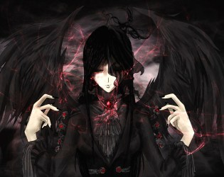 angel anime gothic dark angels wallpapers chaos phone collection