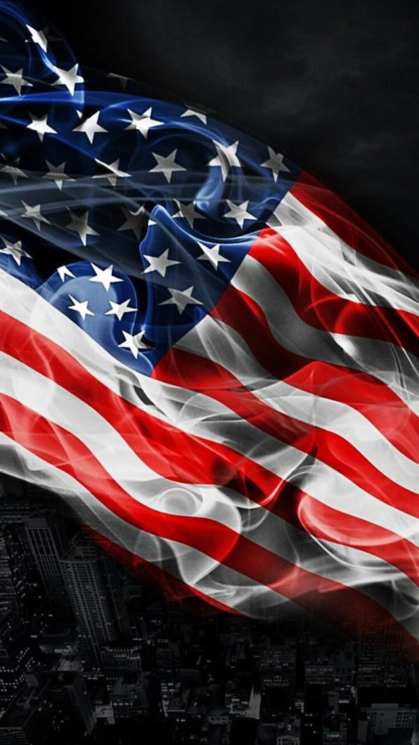 American Flag iPhone Screensaver