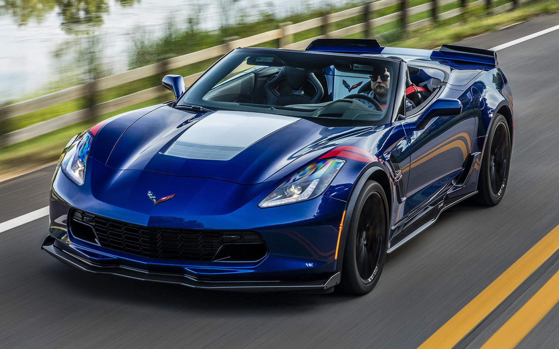 2017 Corvette Stingray Black Wallpaper