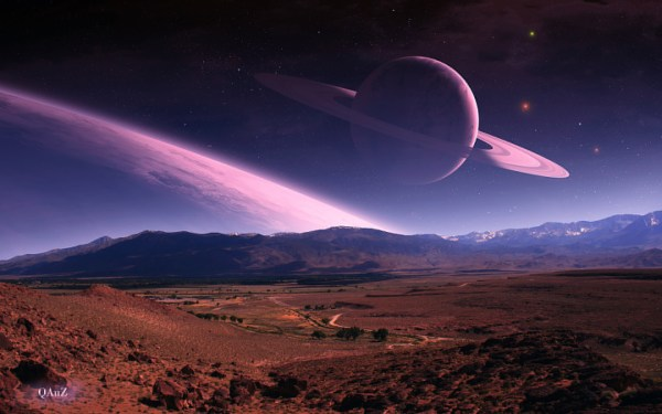 wallpaper science fiction planet