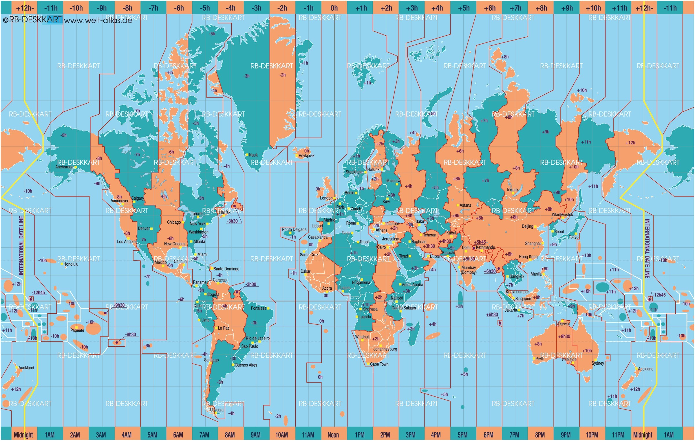 World Map Time Zones Wallpaper 52 Images