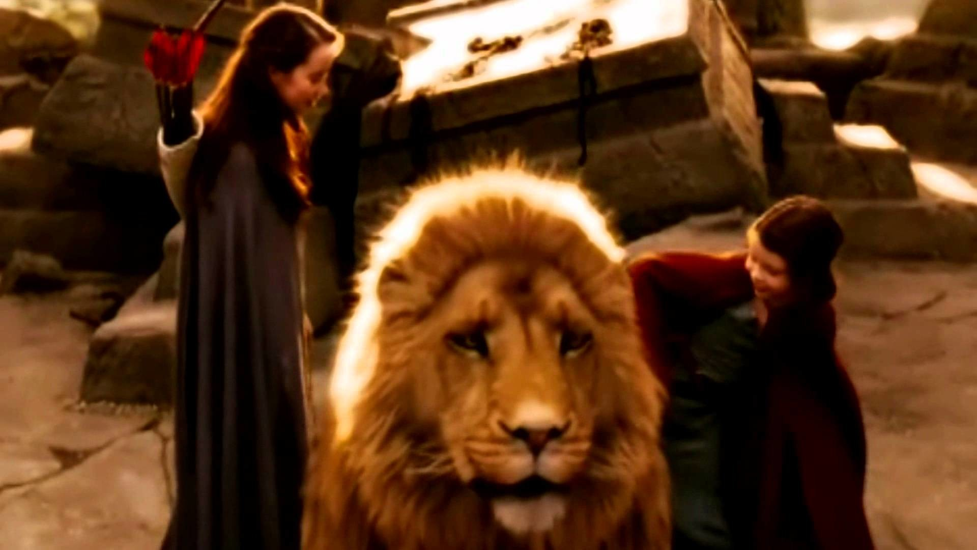 Lion Wallpaper Quotes Narnia Aslan Wallpaper 68 Images
