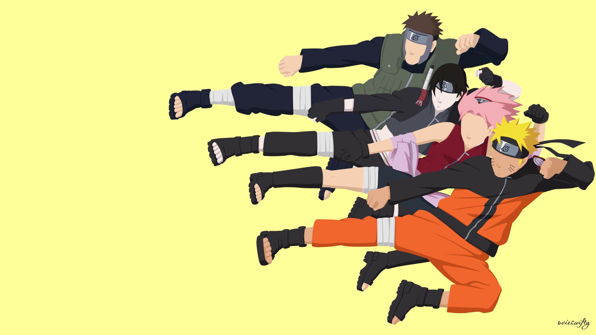 Naruto Team 7 Wallpaper Cute Naruto Team 7 Wallpapers 62 Images