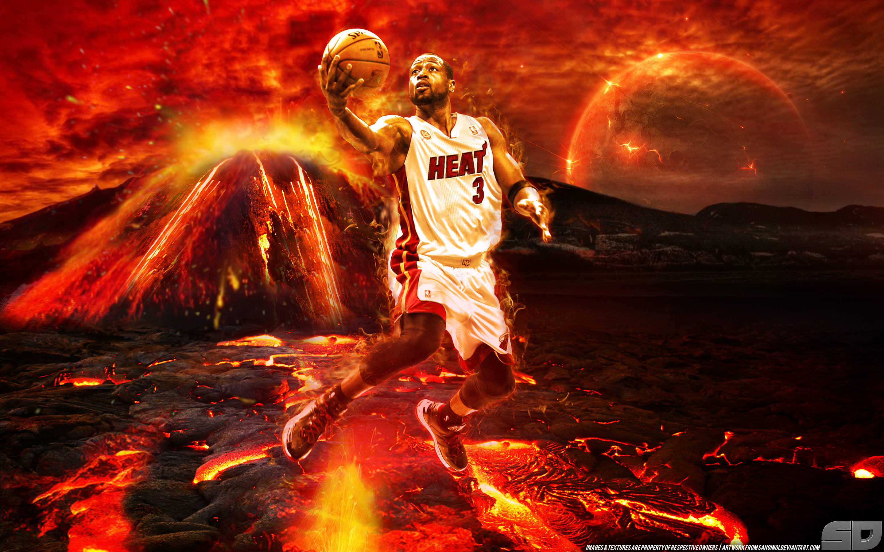 Miami Heat Wallpaper Iphone X Cool Basketball Wallpapers For Iphone 60 Images