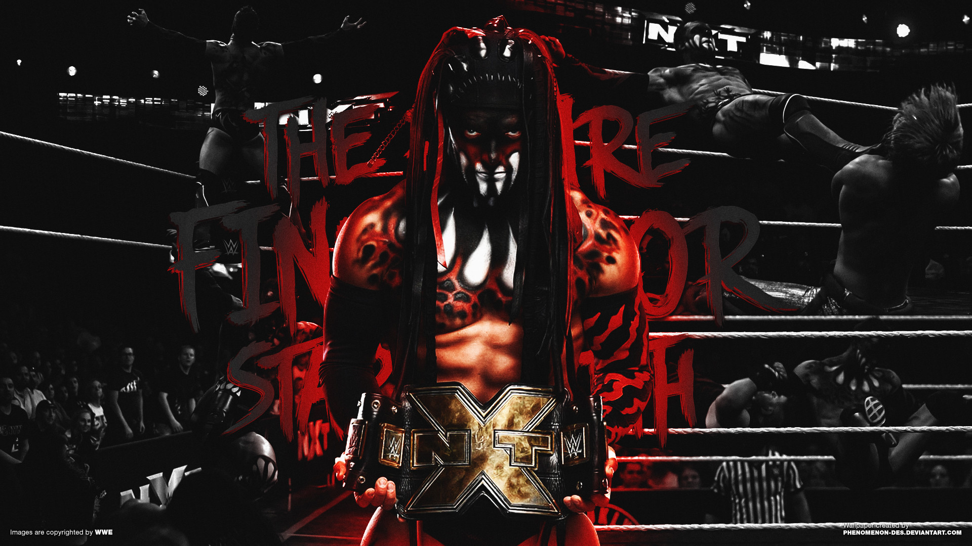 Wwe Dx Hd Wallpaper Demon King Wallpapers 77 Images