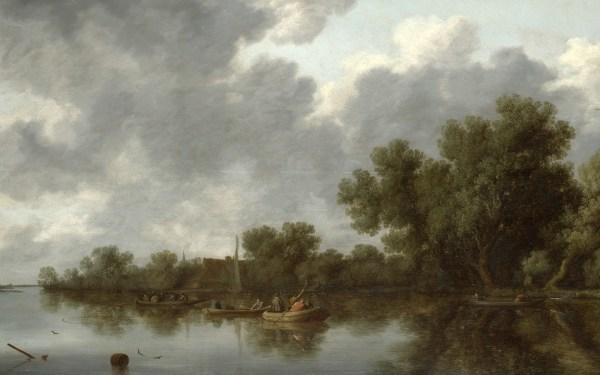 Salomon Van Ruysdael Paintings