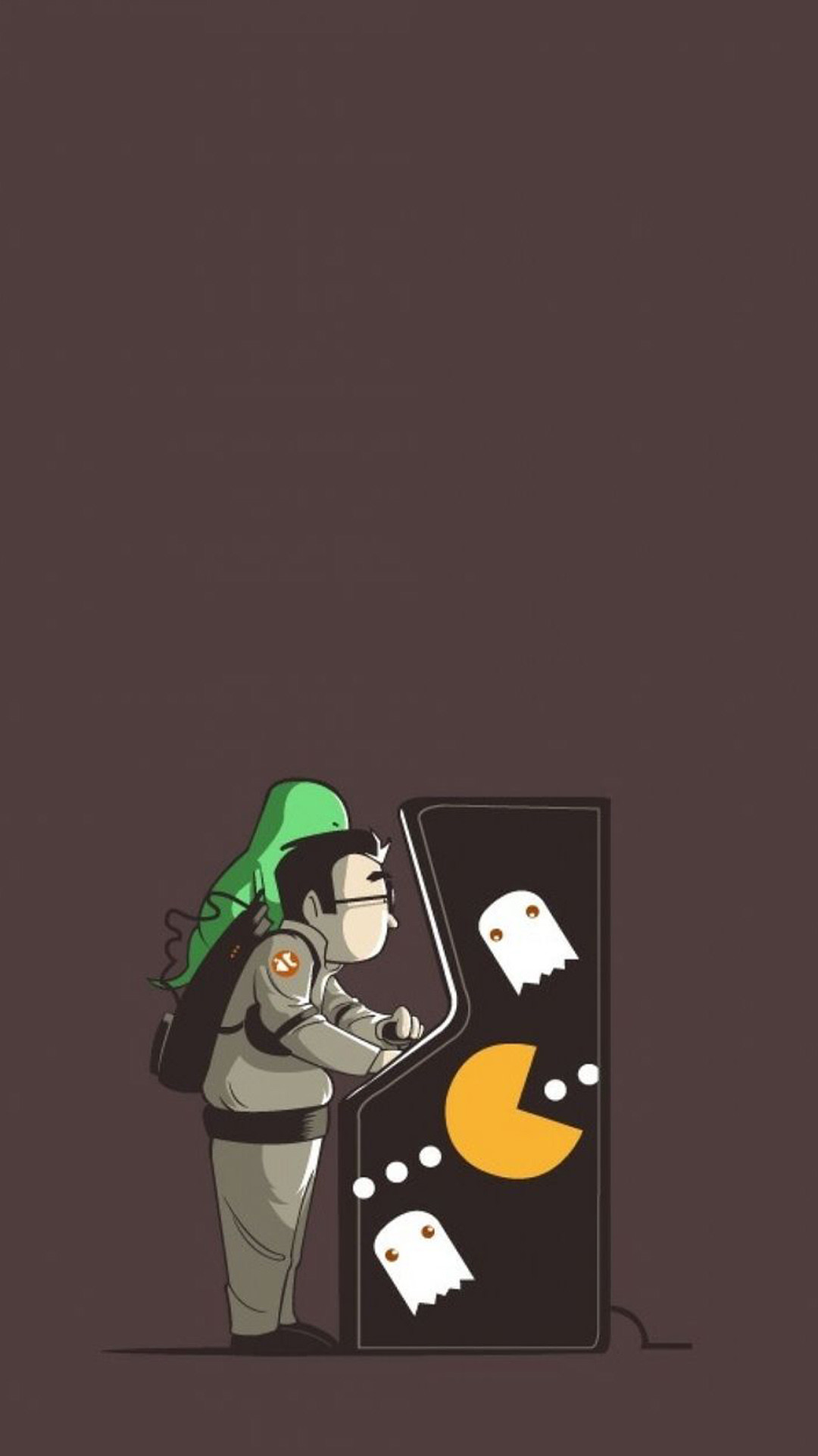 Pacman Wallpaper Iphone X Ghostbuster Wallpaper 74 Images