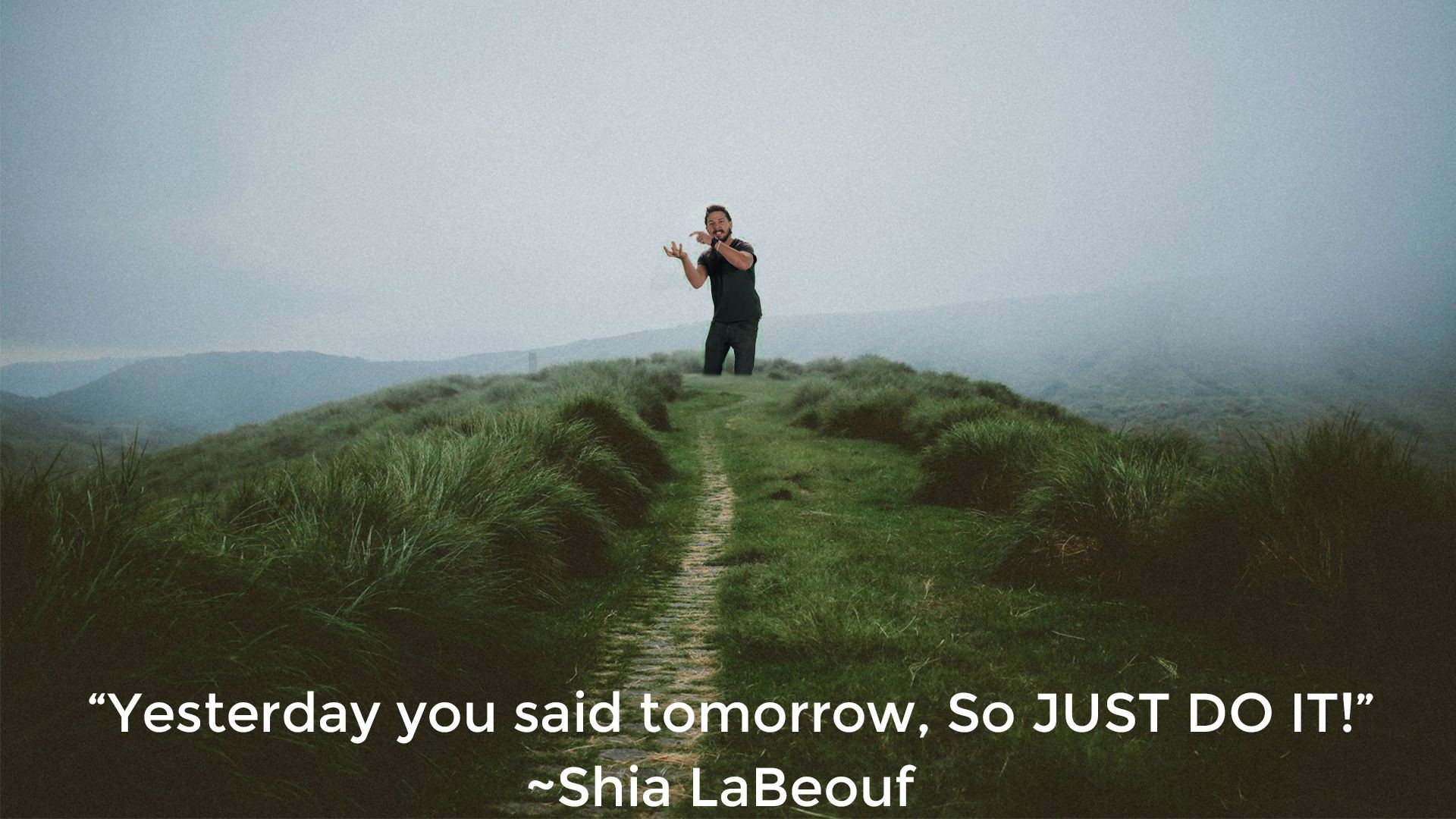 Motivational Quotes Wallpaper Download Shia Labeouf Just Do It Wallpaper 69 Images