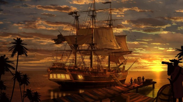 Ghost Pirate Ship Wallpaper 67