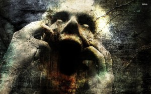 scary backgrounds horror dark gothic evil face mood expression scream pc
