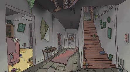 haunted background animation concept backgrounds