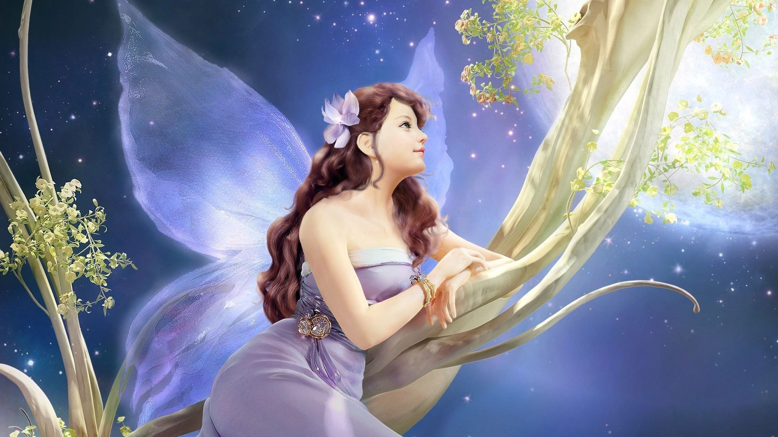 Wallpaper Of Cute Barbie Girl Pretty Fairy Wallpapers 61 Images
