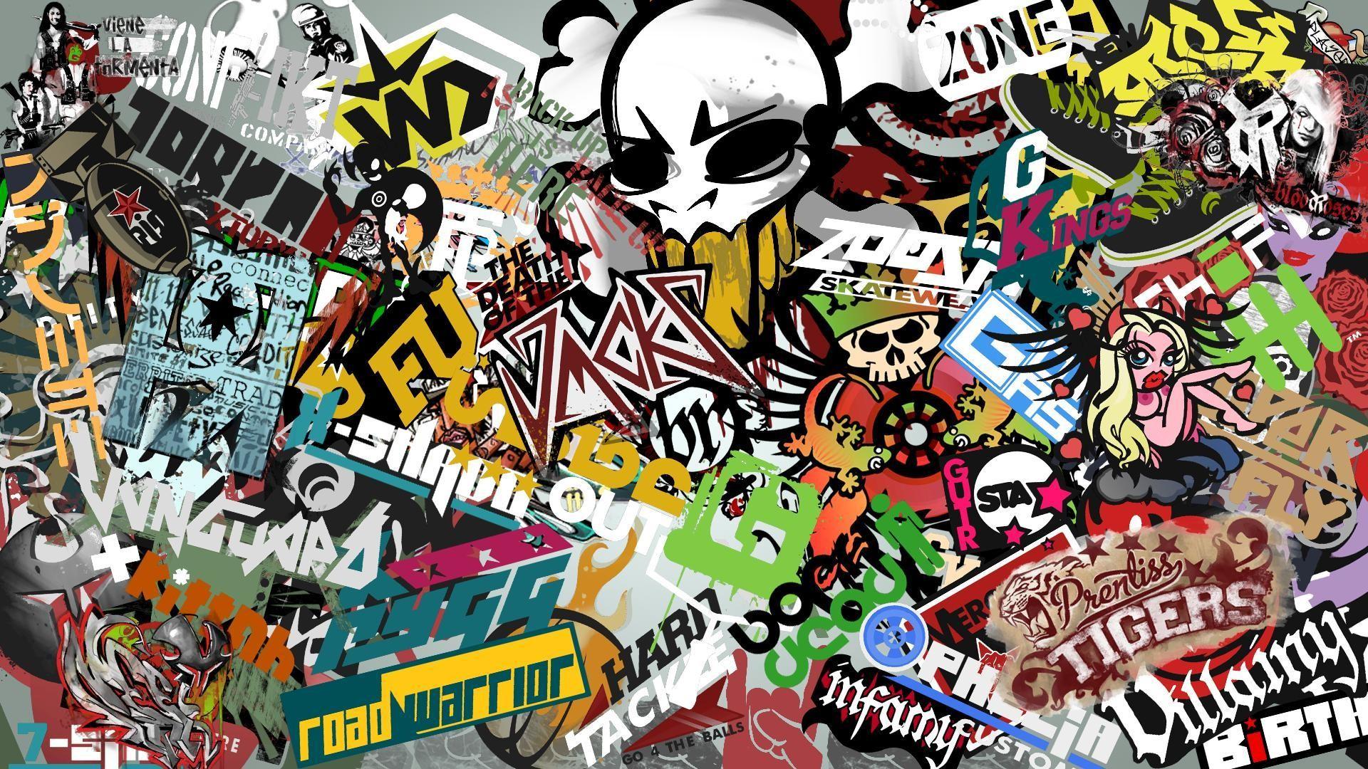 Domo Kun Iphone Wallpaper Jdm Sticker Bomb Wallpaper 45 Images