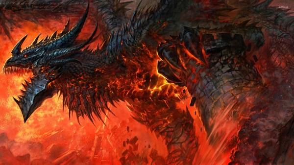 World of Warcraft Cataclysm Dragon