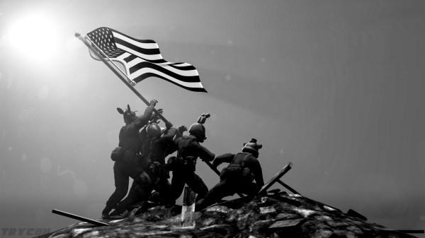 Iwo Jima Flag Raising Wallpaper 52