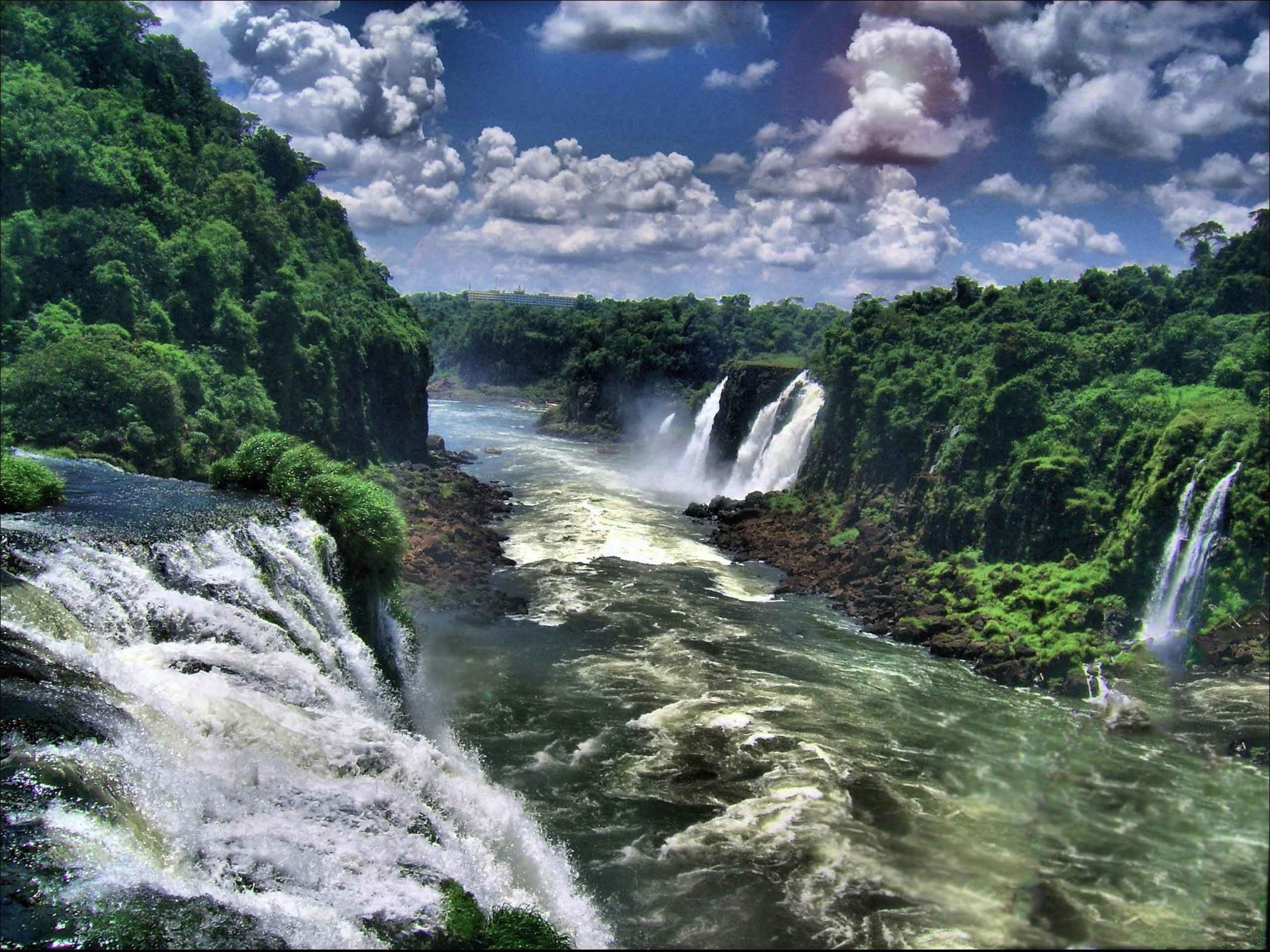 Iguazu Falls Brazil Wallpaper Iguazu Falls Wallpaper 61 Images