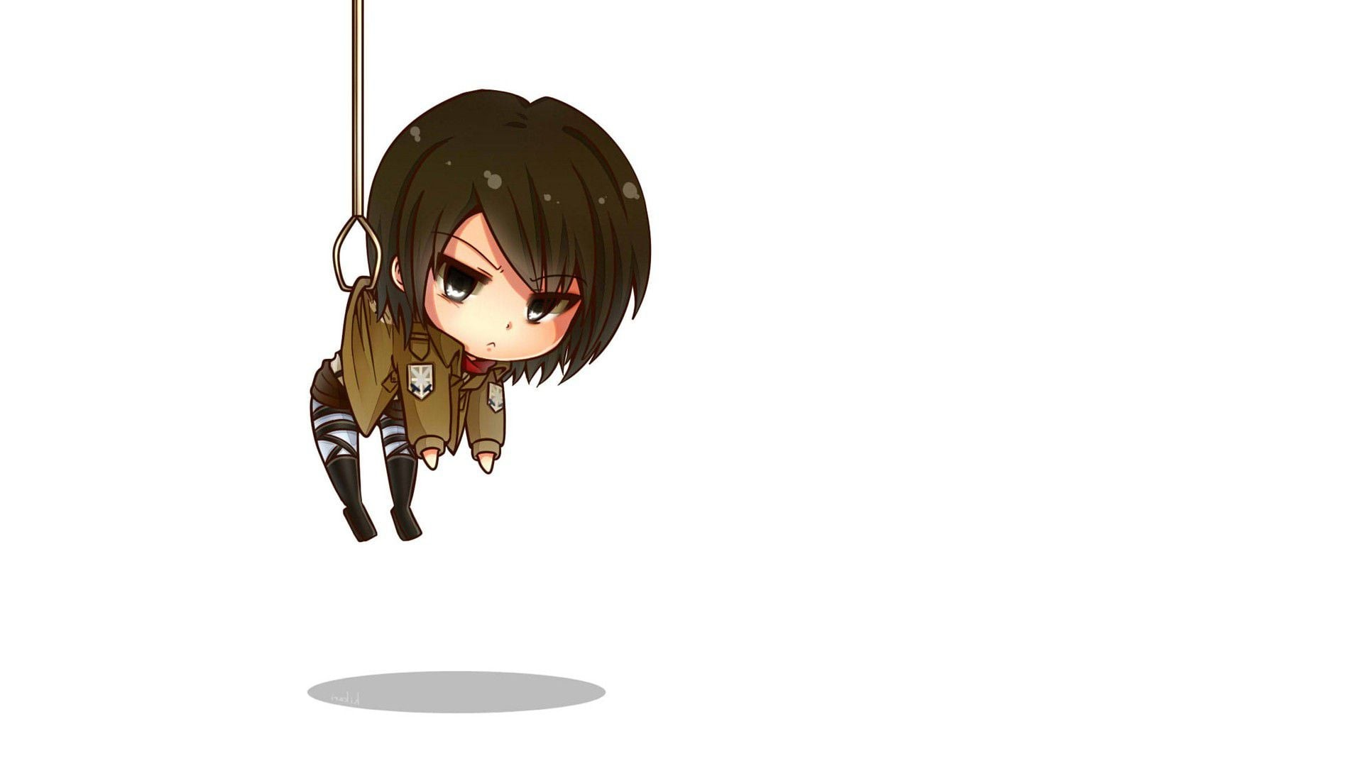 There are some amazing characters in the attack on titan anime series but also plenty who need to die asap. Attack on Titan Chibi Wallpaper HD (63+ images)
