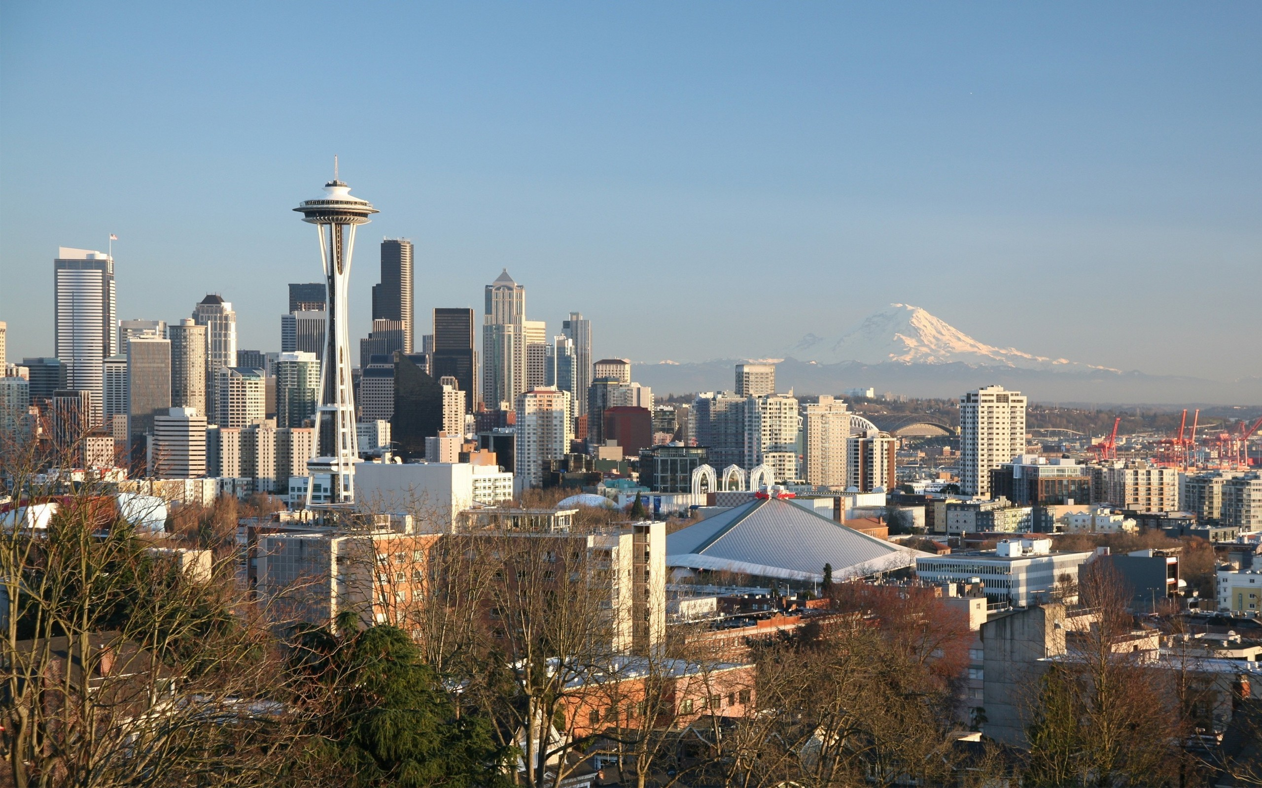 Sea Hd Wallpapers 1080p Seattle Skyline Wallpaper 69 Images