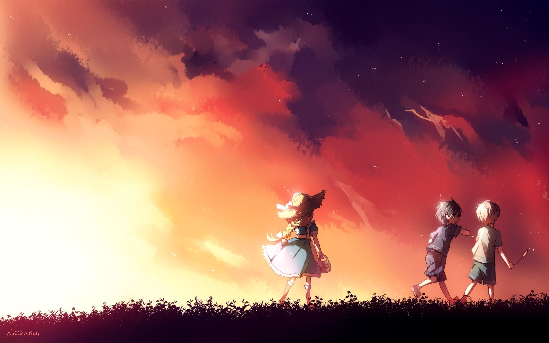 Fall Anime Wallpaper Vocaloid Anime Fall Wallpapers 59 Images