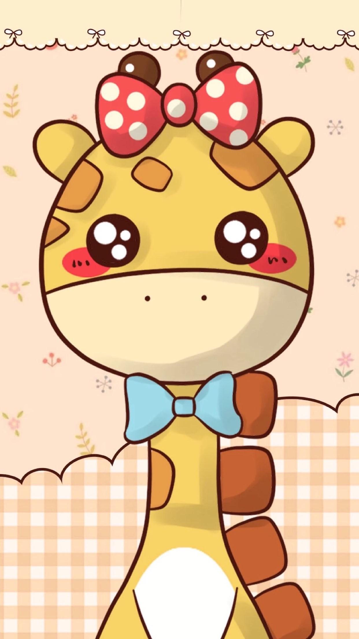 Cute Cartoon Giraffe Wallpaper Cute Giraffe Wallpaper 62 Images