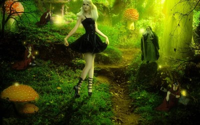 Enchanted Forest Wallpapers 62+ images