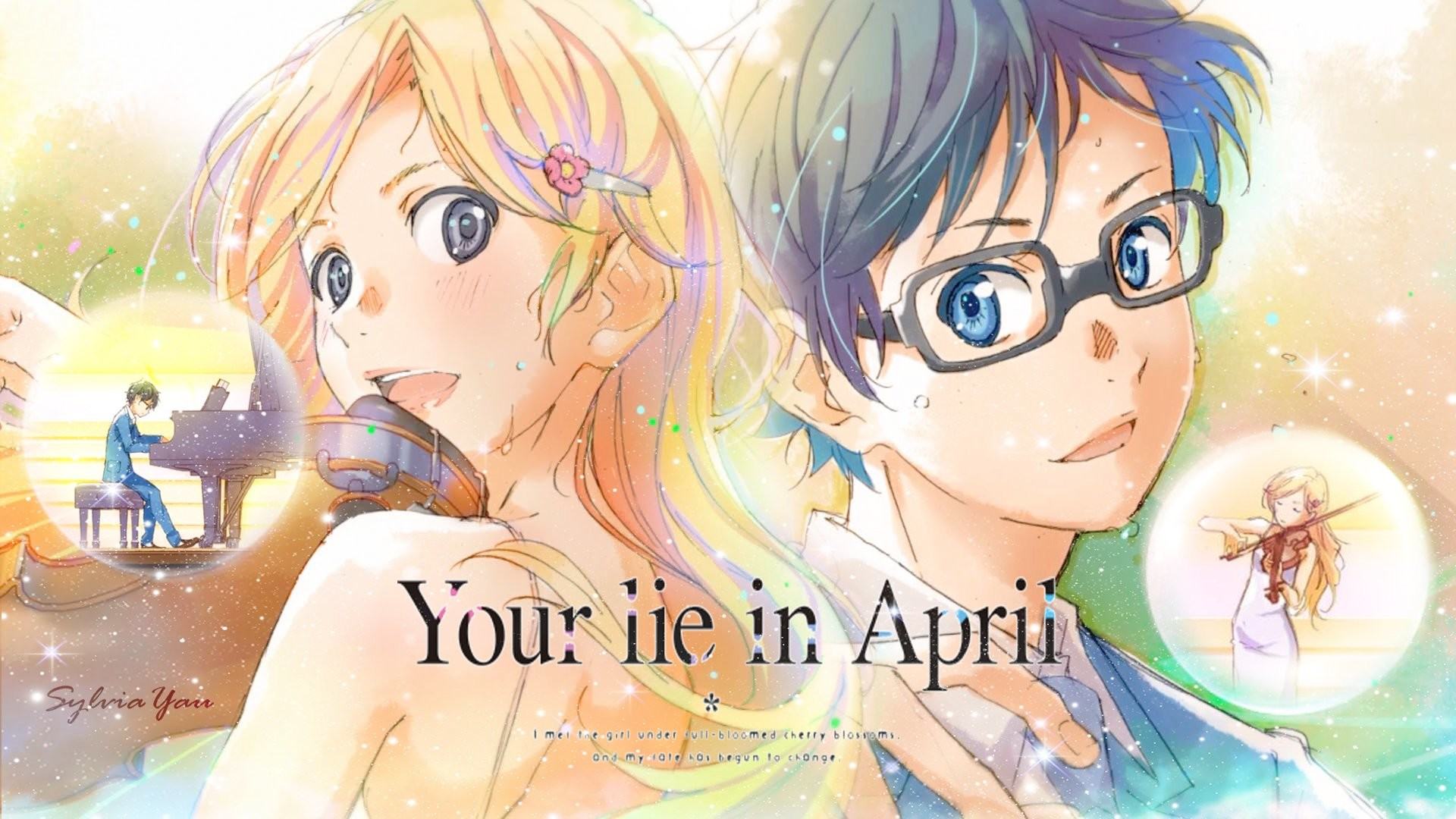 Zerochan has 312 shigatsu wa kimi no uso anime images, wallpapers, hd wallpapers, android/iphone wallpapers, fanart, facebook covers, and many more in its. Your Lie in April Wallpaper (83+ images)