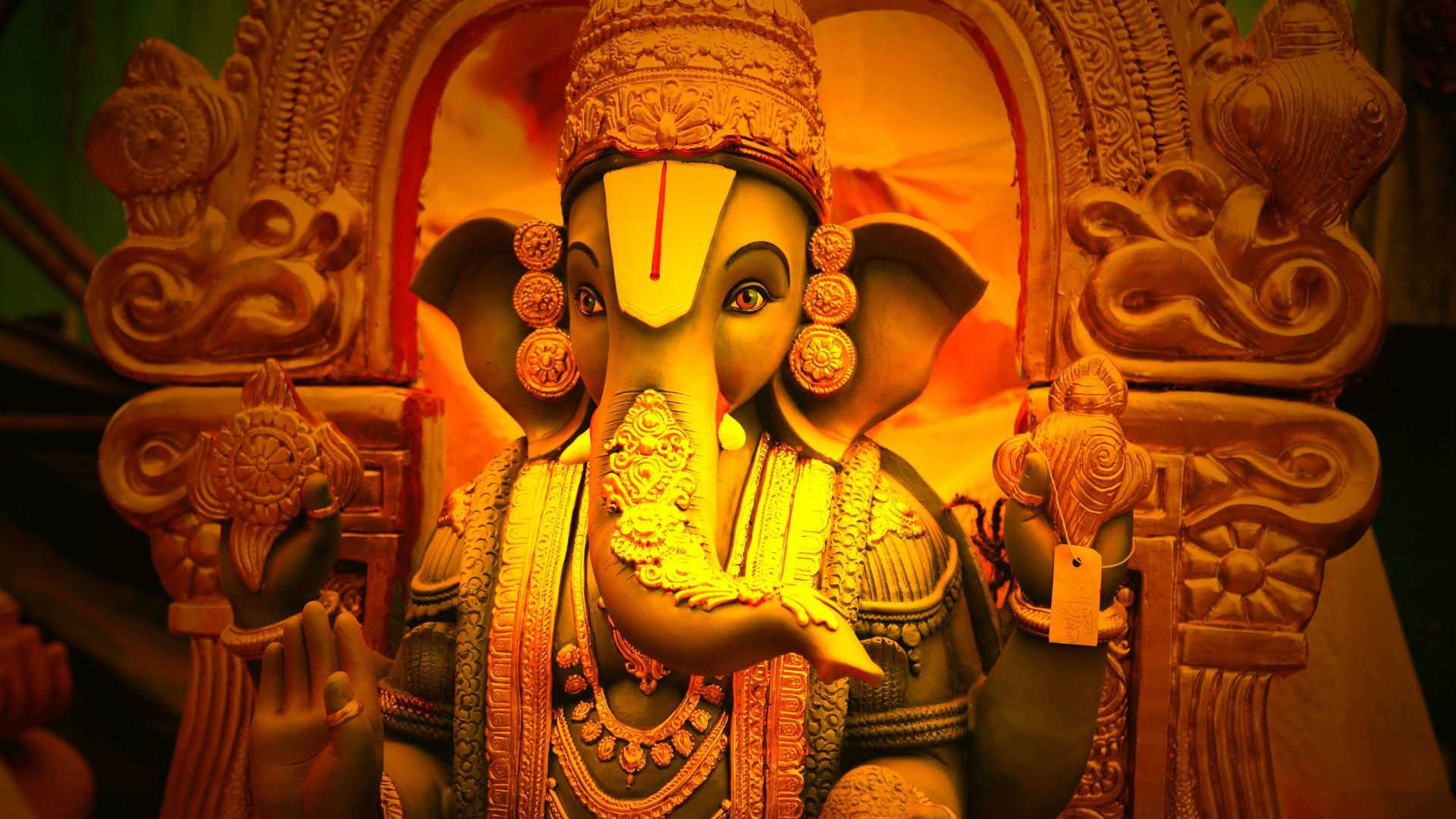 Lord Ganesha Animated Wallpapers Ganesh Background 50 Images