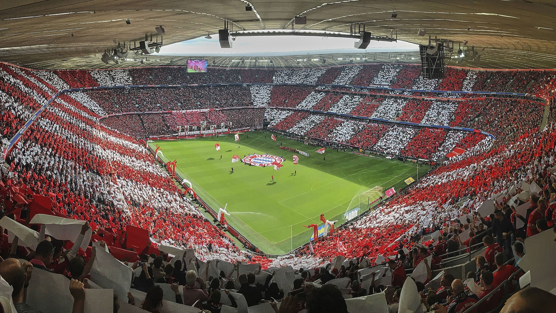 Iphone X Live 1920x1080 Wallpapers Allianz Arena Wallpapers 63 Images