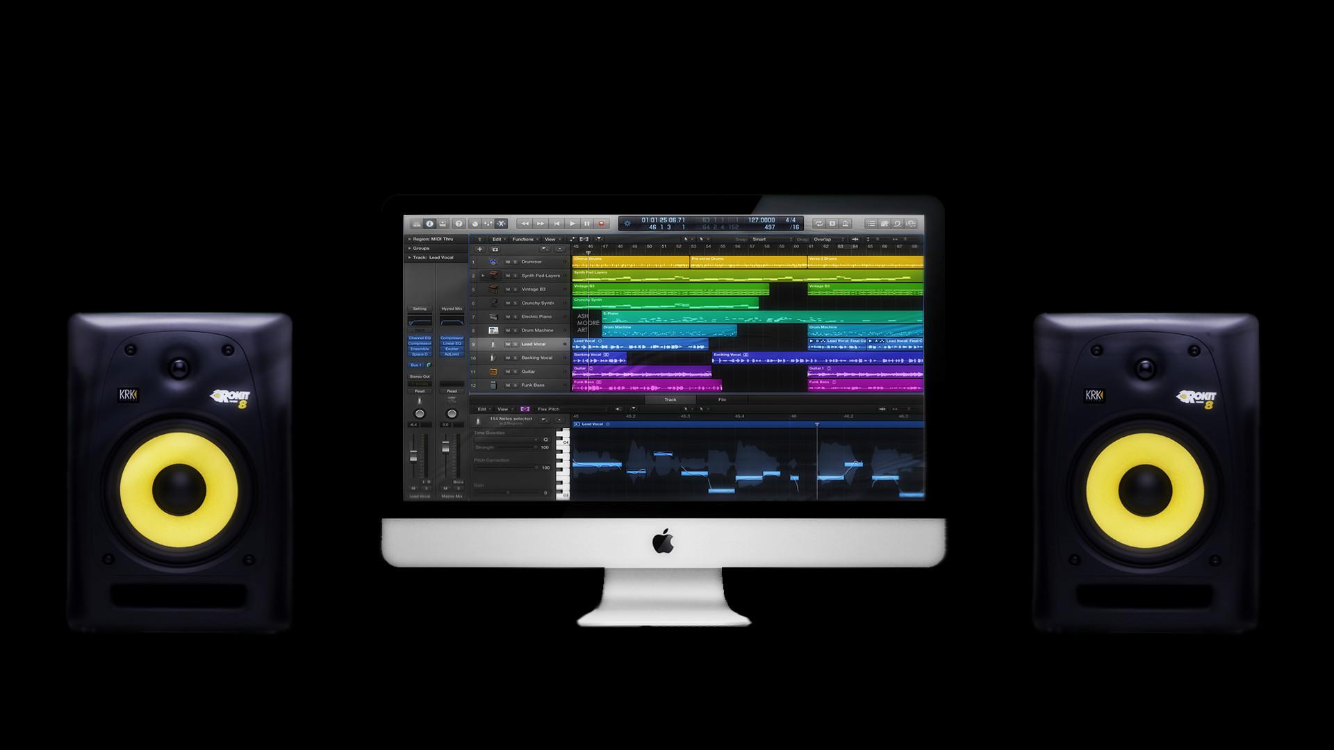 Recording Studio Iphone Wallpaper Logic Wallpaper Hd 78 Images