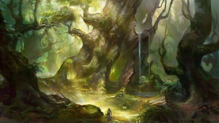 Enchanted Forest Background 60+ images