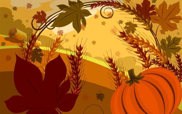Free Thanksgiving Desktop Wallpaper Screensaver