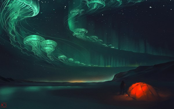 Glowing Jellyfish Wallpapers 67