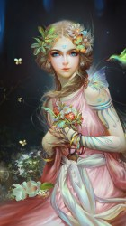 fairy fantasy artwork mobile 4k forest wallpapers blonde phone desktop creative graphics woman 2853 collection