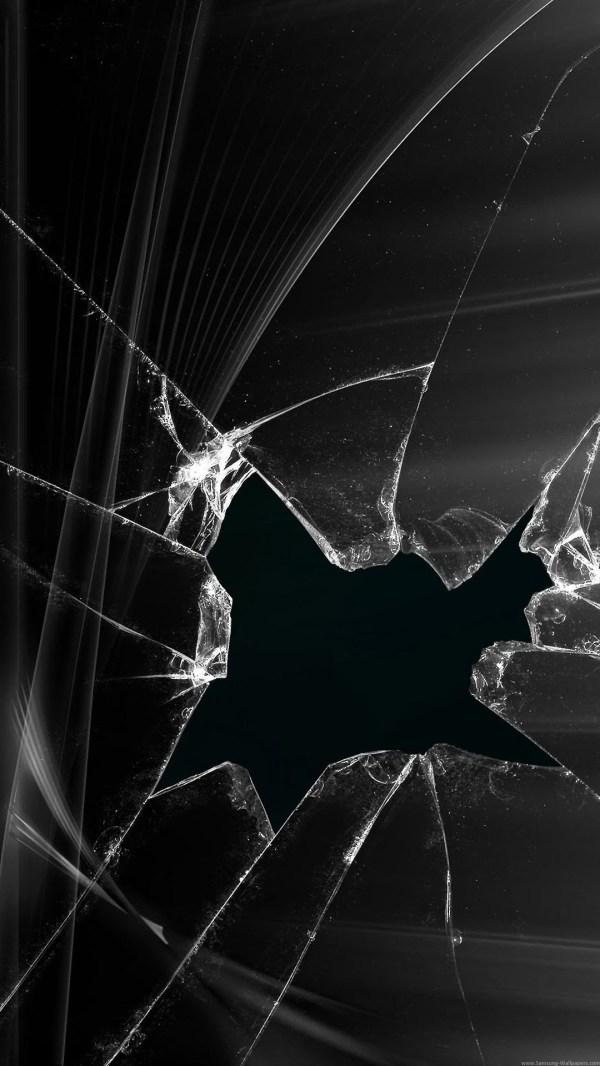 cracked screensaver