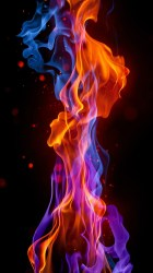 fire wallpapers flame iphone smoke hd abstract lock screen background backgrounds cool 1080 mobile android 1920 windows