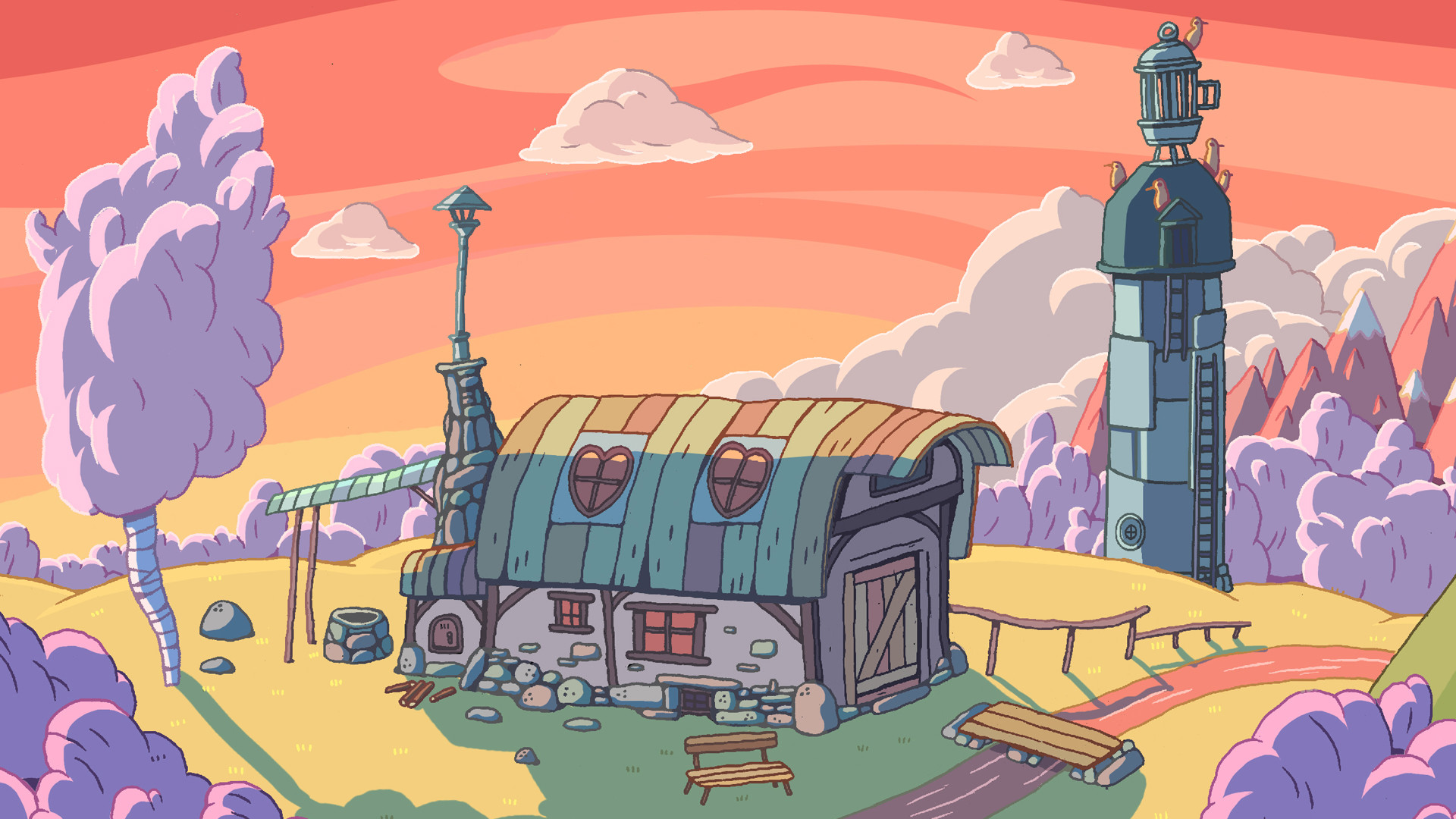 Cell Wallpaper Hd Illustration Fall Adventure Time Backgrounds 69 Images