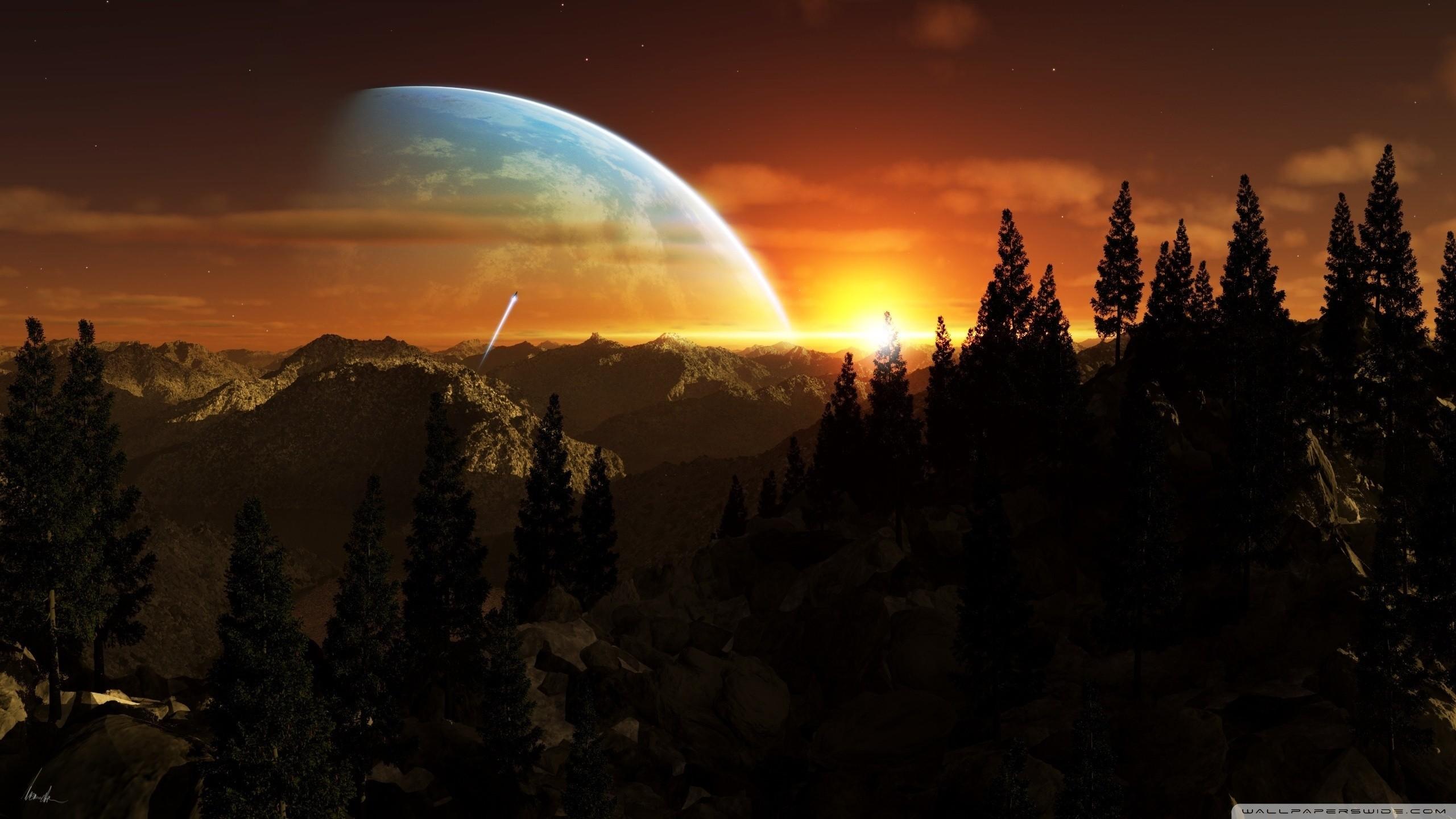 Best Future City 3d Wallpapers Alien World Wallpaper 78 Images