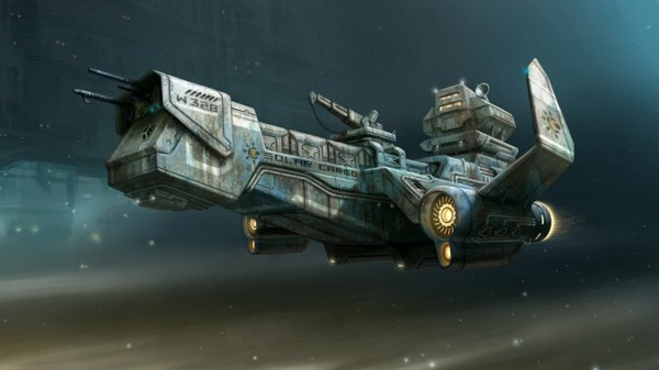 Sci Fi Spaceship Wallpaper 81