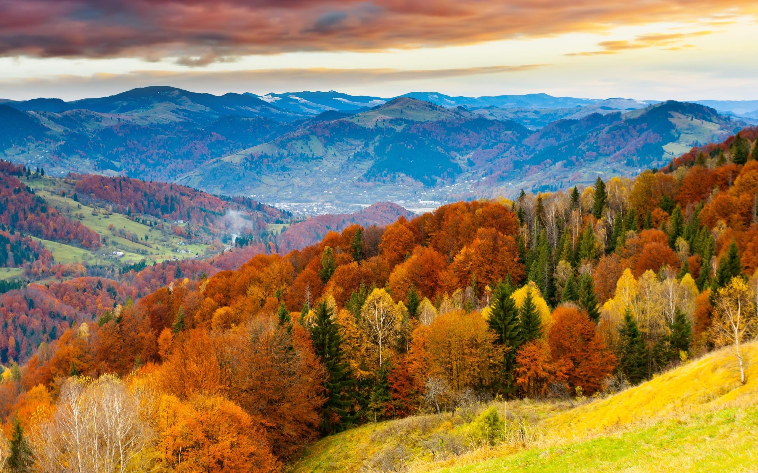 Fall Mountain Desktop Wallpaper Autumn Landscape Wallpaper 69 Images