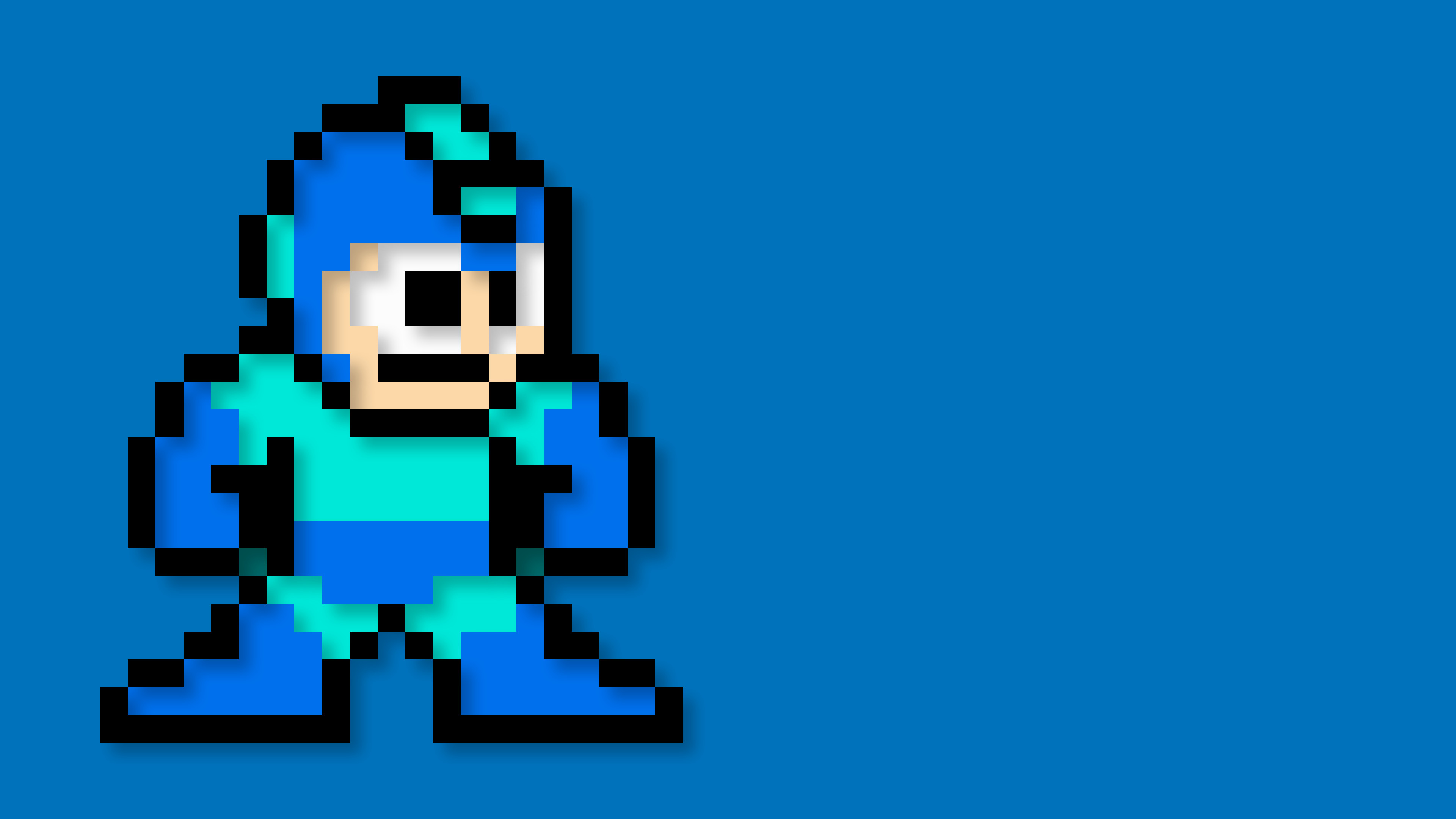 8 Bit Iphone X Wallpaper Megaman Wallpaper 73 Images