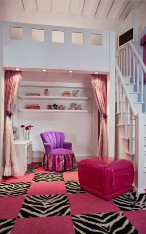cool bedroom rooms wallpapers pretty really designs pink cheap decorations