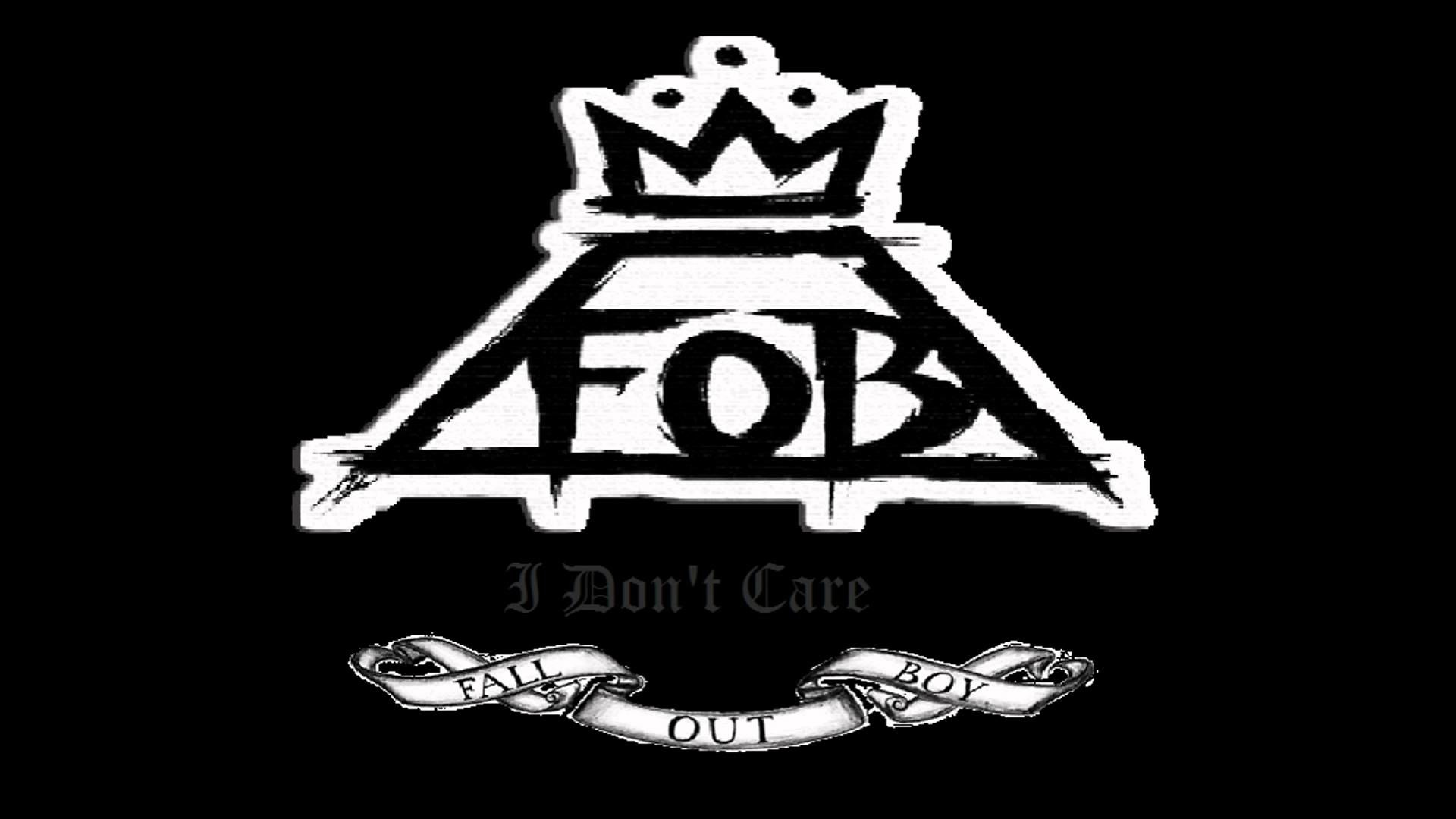 Fall Out Boy Wallpaper Lyrics Fall Out Boy Logo Wallpaper 77 Images
